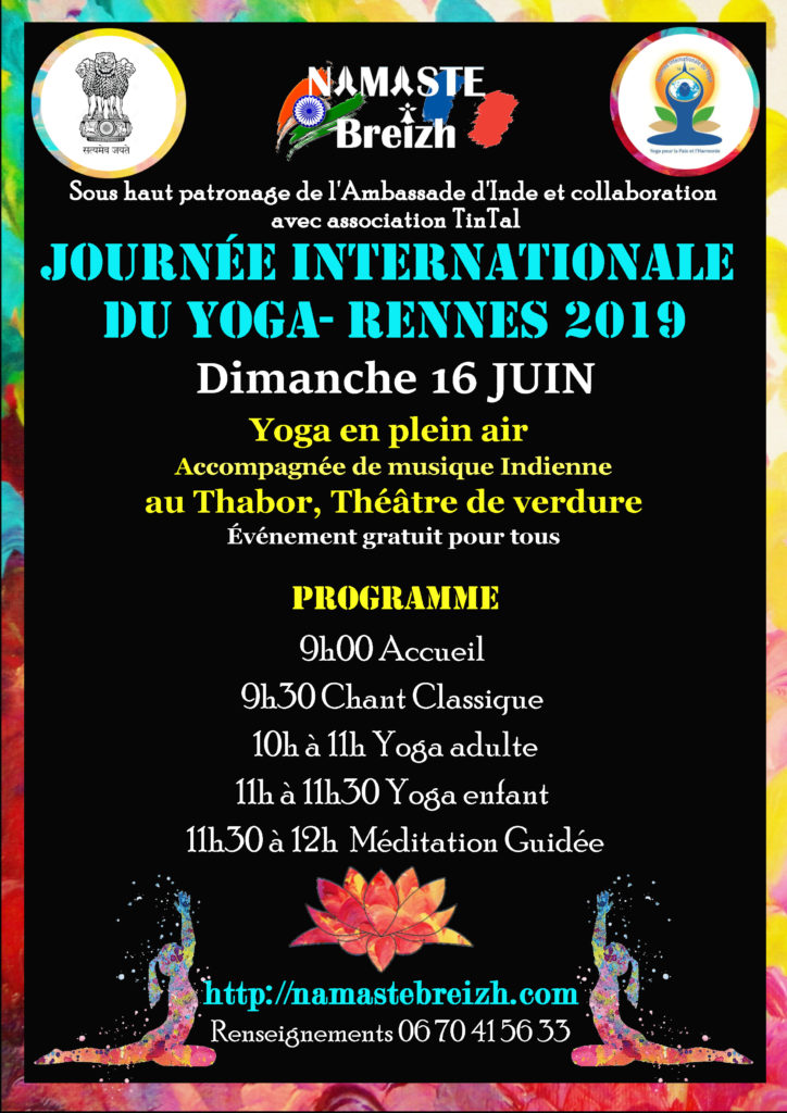 Yoga day 2019 Rennes