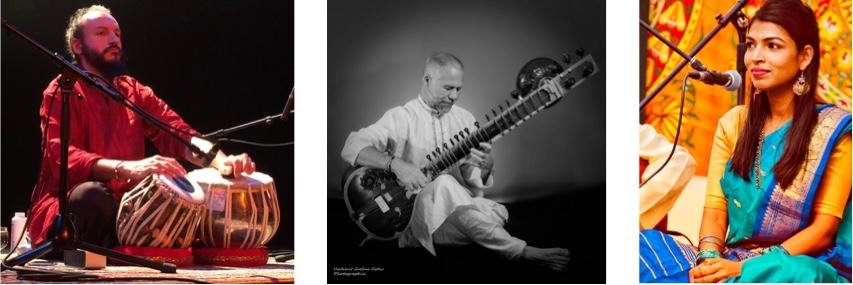 Uma Nageswara - chant / Denis Teste - sitar / Tristan Auvray - tabla